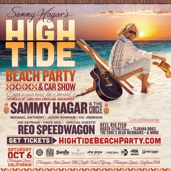 Sammys New High Tide Beach Party Car Show In Huntington Beach On - Car show huntington beach