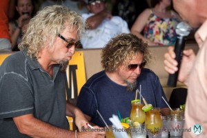 Mark (our master distiller) & Sammy at Mai-Tai Mix Off in Maui June 2012
